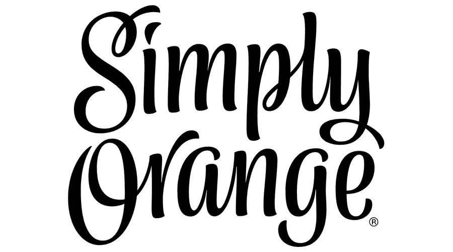 Frutas Simply | Domestika |Simply Orange Logo