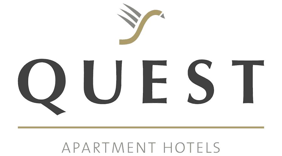 Quest Apartment Hotel Vector Logo