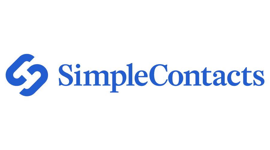 Simple Contacts Vector Logo