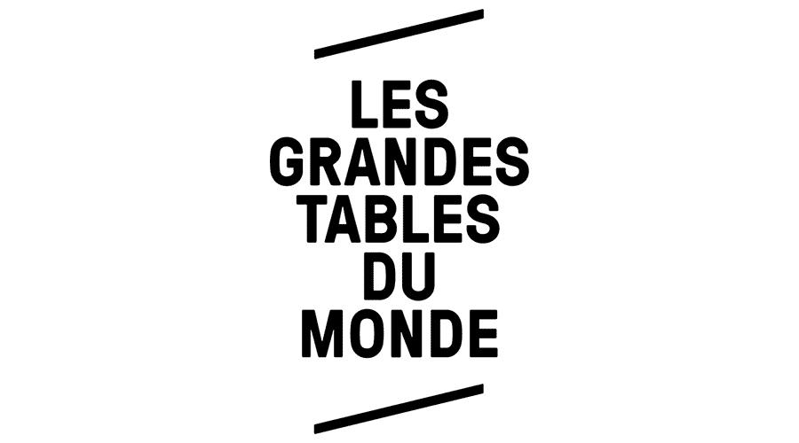 Les Grandes Tables Du Monde Vector Logo