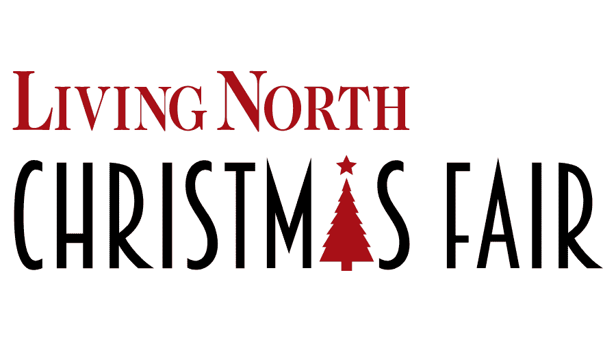 Living North Christmas Fair Vector Logo