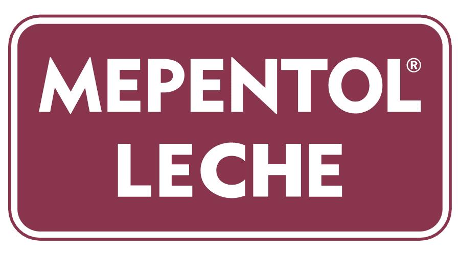 Mepentol Leche Vector Logo